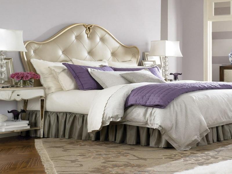 Glamorous bedroom ideas 5 small interior ideas for Glamorous bedroom designs