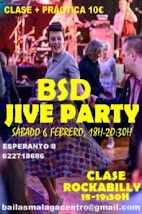 BSD JIVE PARTY  EN BSD MÁLAGA CENTRO