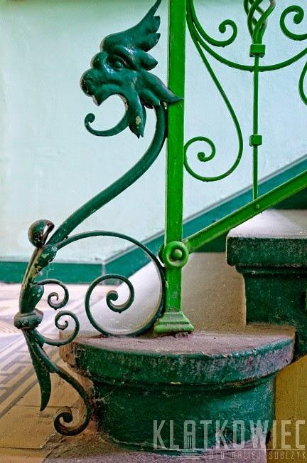 Cieszyn: ozdobne zwieńczenie balustrady