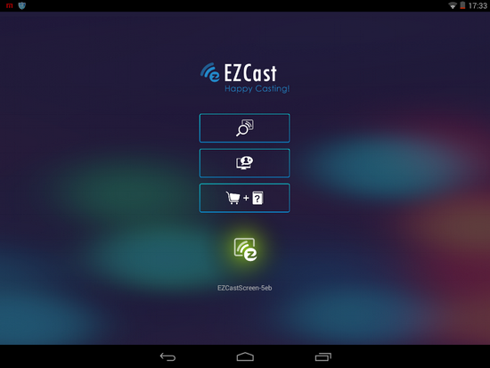 Ezcast for android reaches 1 version see what 39 s new for Mirror zte phone to tv