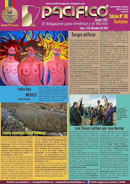 Revista Pacífico Nº 306 Turismo