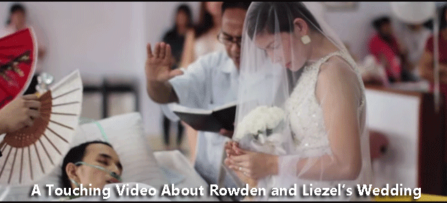 A Touching Video About Rowden and Liezel's Wedding