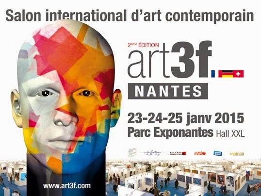 NANTES :  ART3F DU 23 AU 25 JANVIER 2015