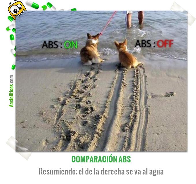 Chiste de Animales de unos Perritos con ABS