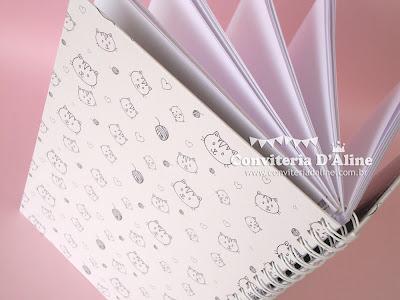 caderno para presente personalizado