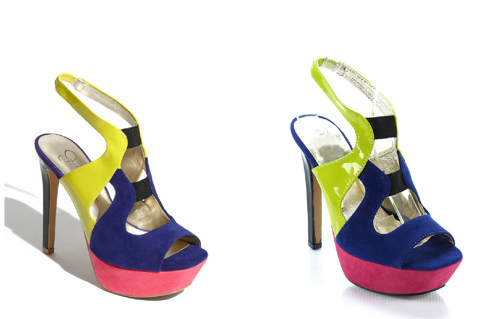 Colorful Platform Heels | Tsaa Heel