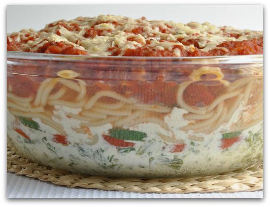 lasagna spaghetti casserole