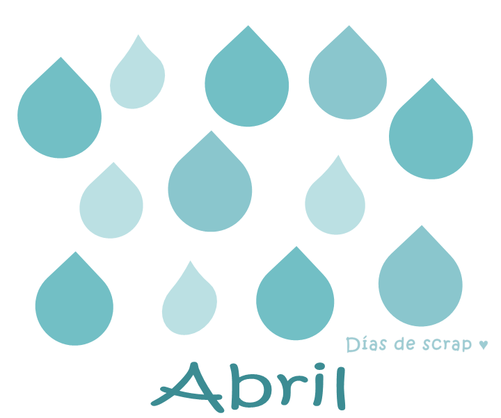 freebie imprimible calendario mes de abril