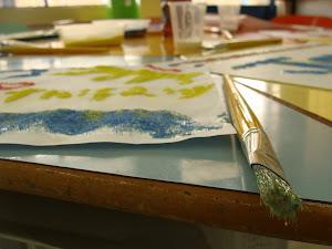 I Exposição Somando Forças Criadoras - 2010 - Arte que as crianças tecem...