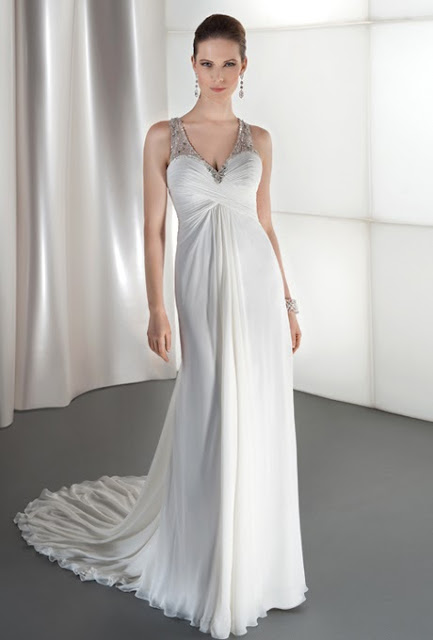 v-neckline-wedding-dress