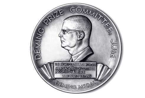 demings award In may 1960 the emperor of japan awarded deming the most esteemed honor  that japan can give a foreigner—the second order of the sacred treasure.