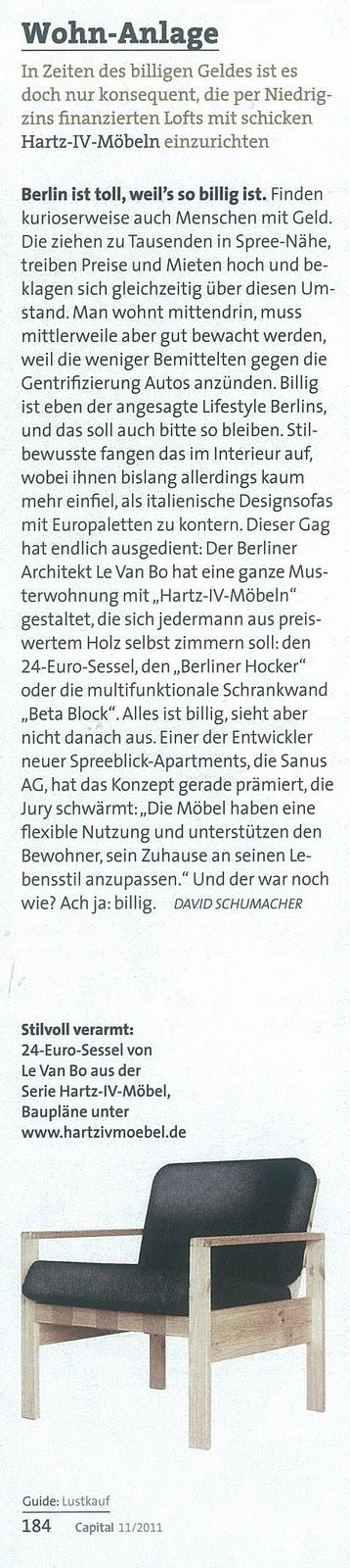 Hartz IV Möbel: Presse