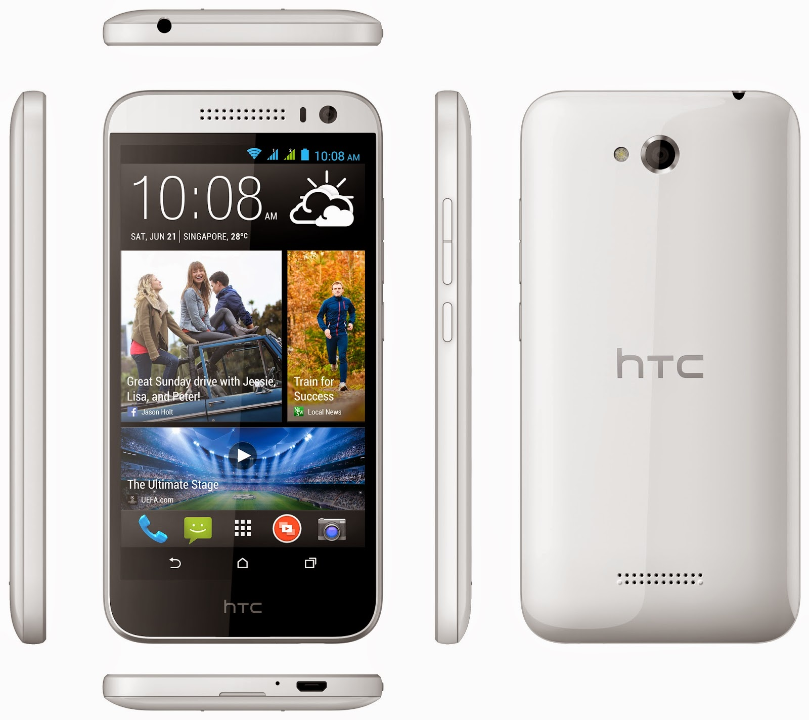 Samsung Galaxy Grand 2, HTC Desire 816, Samsung Galaxy Grand 2 vs HTC Desire 816, Los nuevos smartphones Android, cámara de alta resolución,