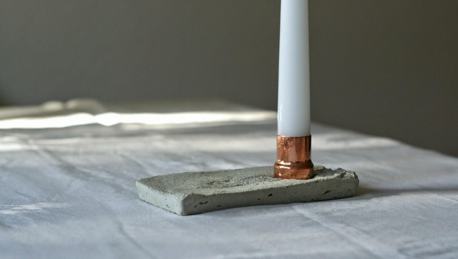vida nullvier lieblingsmaterialien vereint beton kupfer. Black Bedroom Furniture Sets. Home Design Ideas