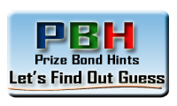 Prize Bond Hints
