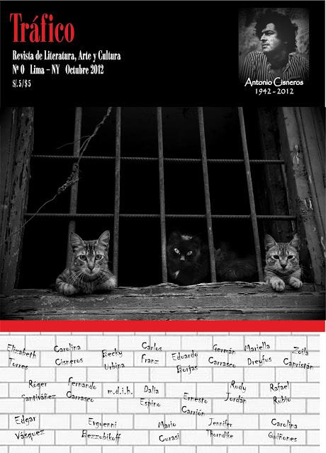 TRÁFICO - REVISTA DE ARTE Y LITERATURA