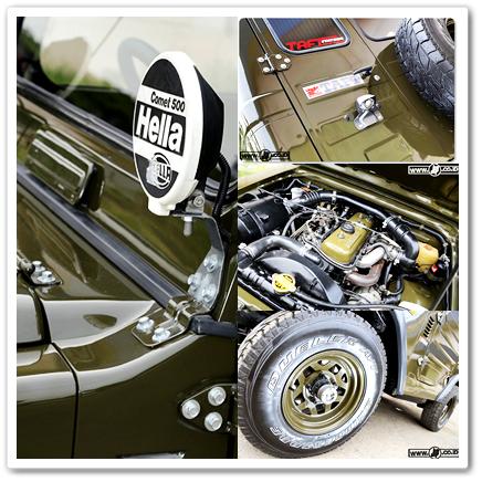 Eksterior Mobil Jip Modifikasi - Daihatsu Taft Kebo F50