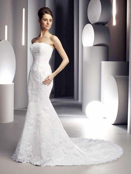 vestido de novia rosa azul – vestidos de boda