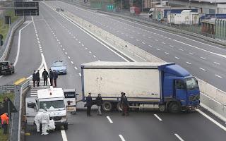 portavalori rapinato autostrada