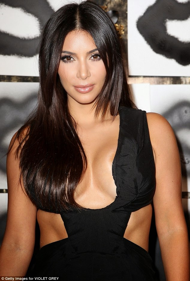 Kim Kardashian Shows off 'TOO MUCH' In Too HOT Outfit HERE!