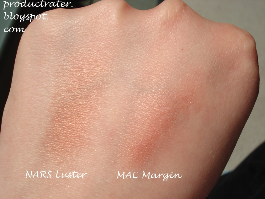 productrater review nars luster blush. Black Bedroom Furniture Sets. Home Design Ideas