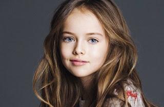 Model Cilik Ini Dijuluki Gadis Tercantik di Dunia