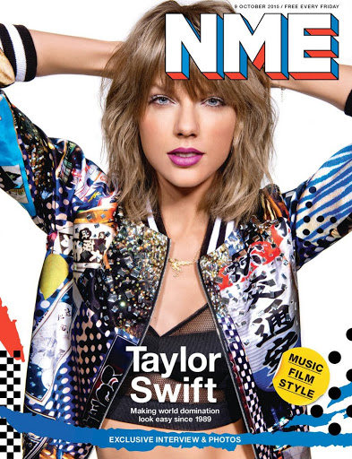 Taylor Swift sexy NME magazine cover October 2015 Photos