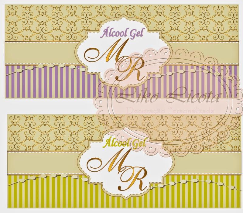 rótulos personalizados para casamento