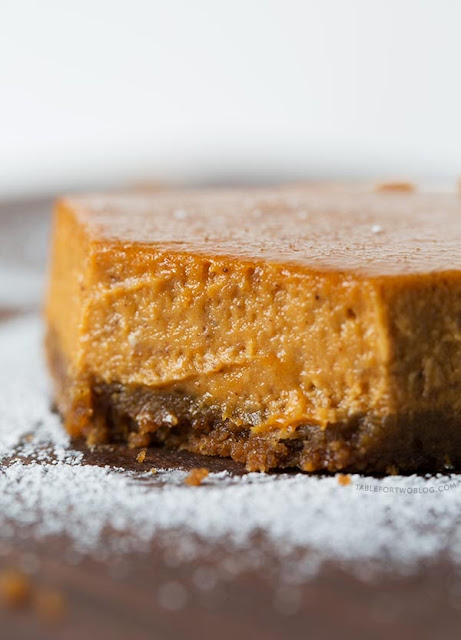 Maple Pumpkin Cheesecake Bars 2