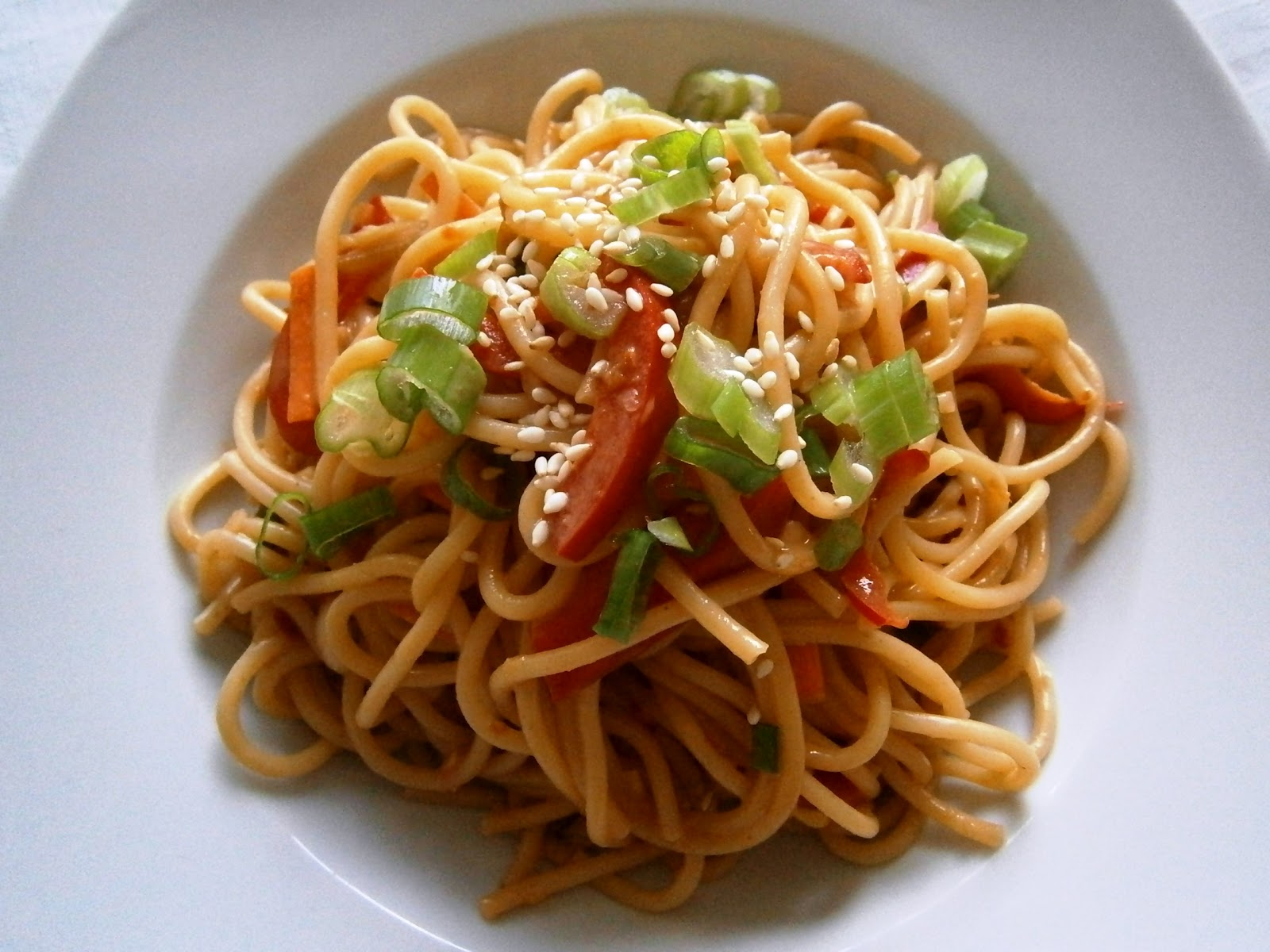 Rachel Green's Thai Noodle Salad Recipe — Dishmaps