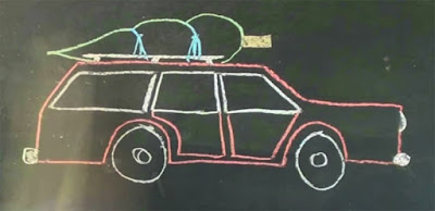 illustration of the Truckers' Hitch on a wagon