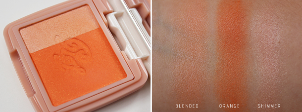 paul and joe cheek color swatches peaches and cream