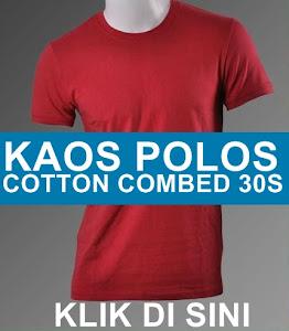 Jual kaos polos cotton 30s