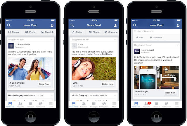 تطبيق فايسبوك