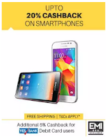 Buy Smartphones at upto Rs.3000 cashback at Paytm : BuyToEarn