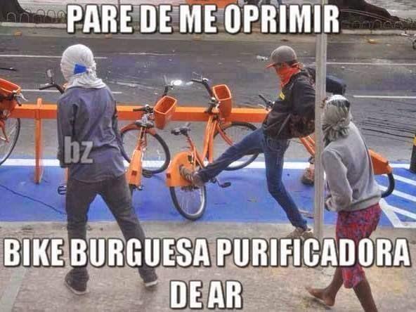 Bike opressora burguesa!