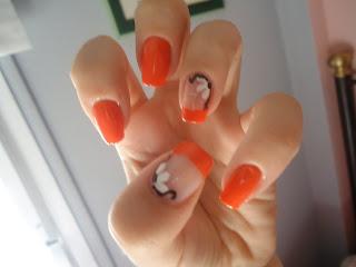 Todo sobre manos y pies lindos dise 241 os de u 241 as color naranja