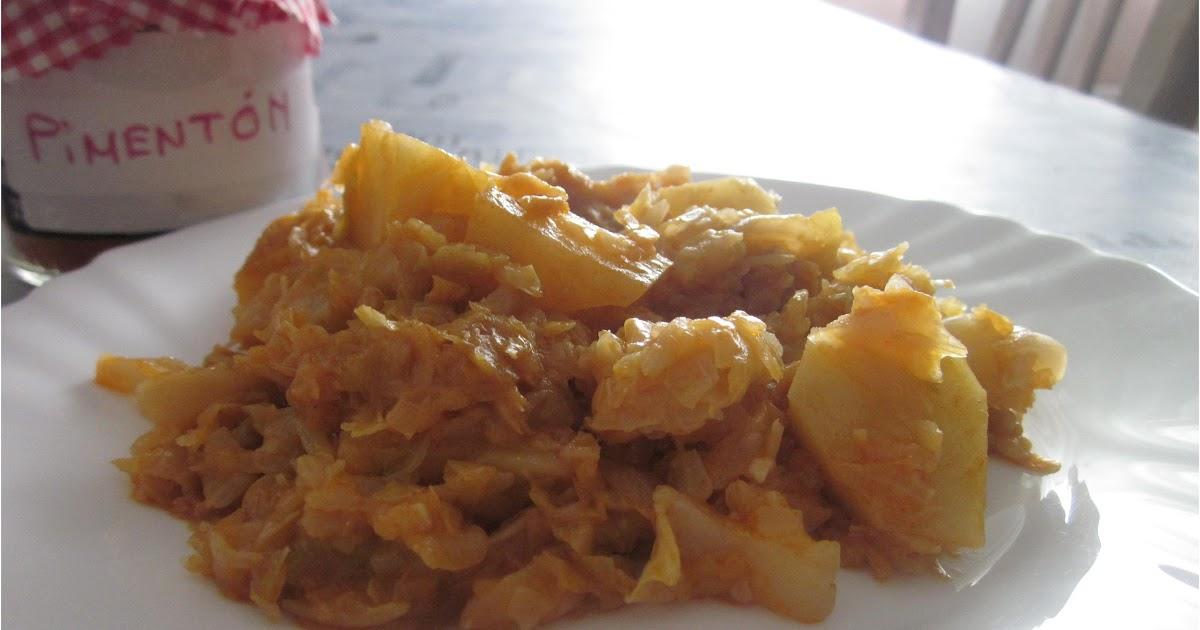 Las recetas de pipi repollo a la gallega for Cocinar raya a la gallega