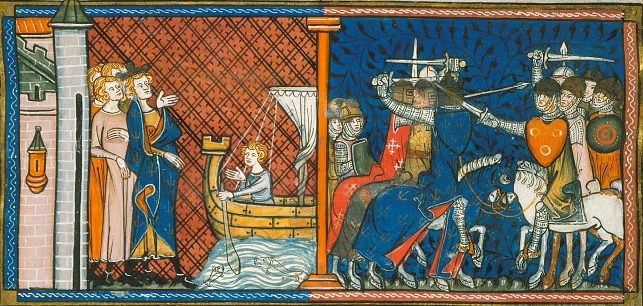 pellegrinaggio e crociate