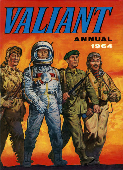 Valiant Annual #1964 - #1984 - IPC Magazines (Complete series)