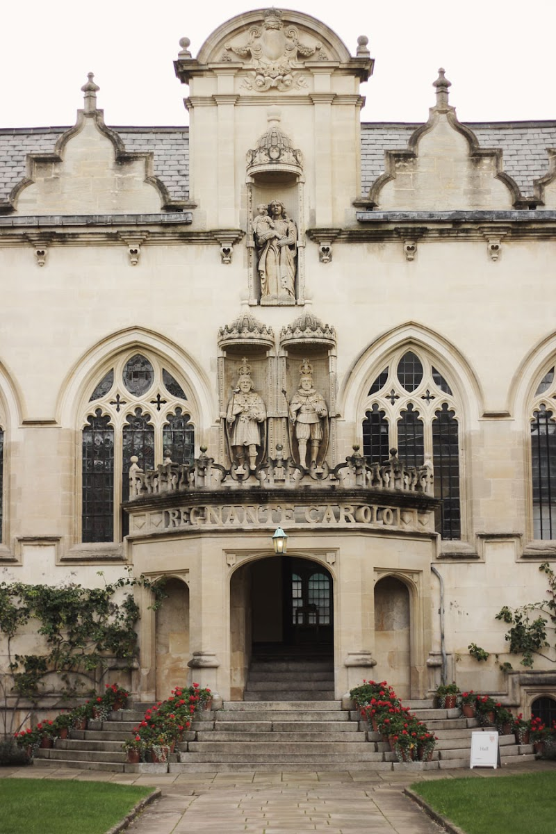 oriel college oxford august