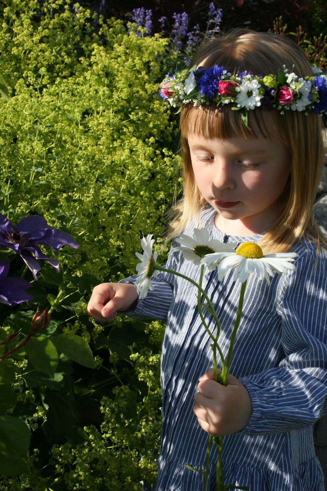 midsommarkrans blomsterkrans
