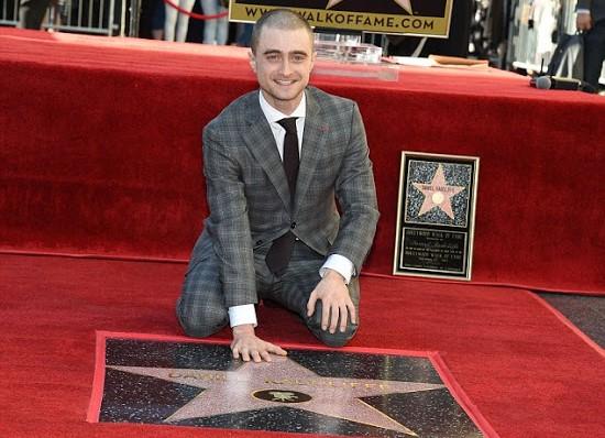 Daniel Radcliffe ganha estrela na Calçada da Fama! | Ordem da Fênix Brasileira