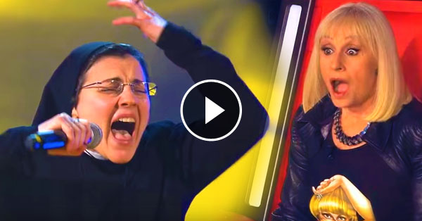 This Nun Decided To Take On The Stage When She Opened Her Mouth!