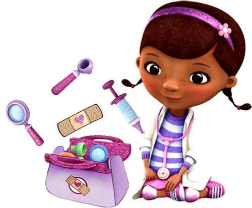 Doctora juguetes y su maletin