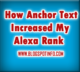 Articles on Anchor Text or Keywords Increases Page Rank and Traffic