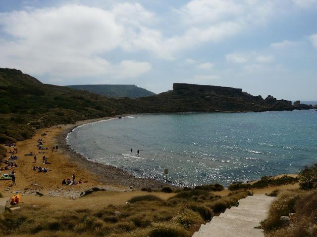 Ghajn Tuffieha Bay, Malta