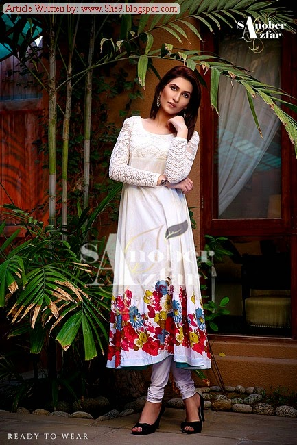 Sanober Afzar Winter Dress Pictures