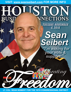 SEAN SEIBERT IS SEEKING YOUR VOTE IN THE 2014 MIDTERM ELECTION