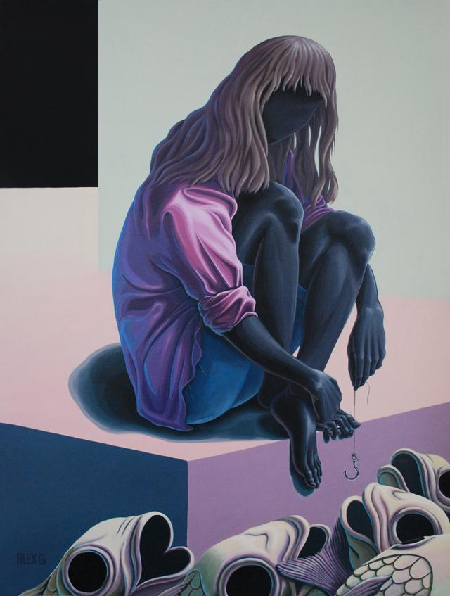 nuncalosabre. Paintings & Drawings - ©Alex Gardner